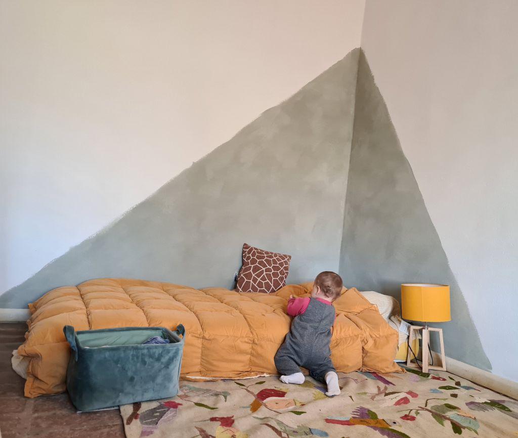 Pitturare la parete dietro al letto. Decora Una Parete Con La Nuova Pittura Lime Paint Mio Mio