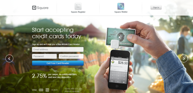 Accept credit cards with your iPhone, Android or iPad - Square