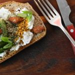Raw Honey Avocado Sourdough Sandwich