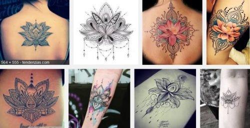 Tatuajes De Flor De Loto 36 Ideas De Diseños Geniales Para Realizarte