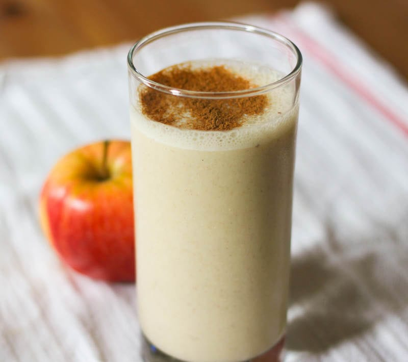 peanut butter apple oatmeal smoothie