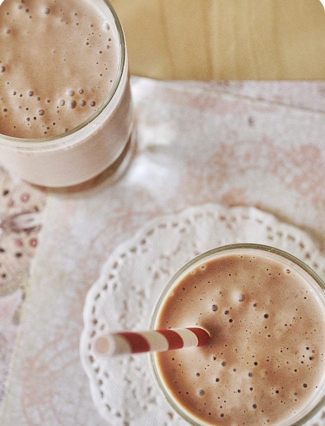 peanut butter oatmeal smoothie