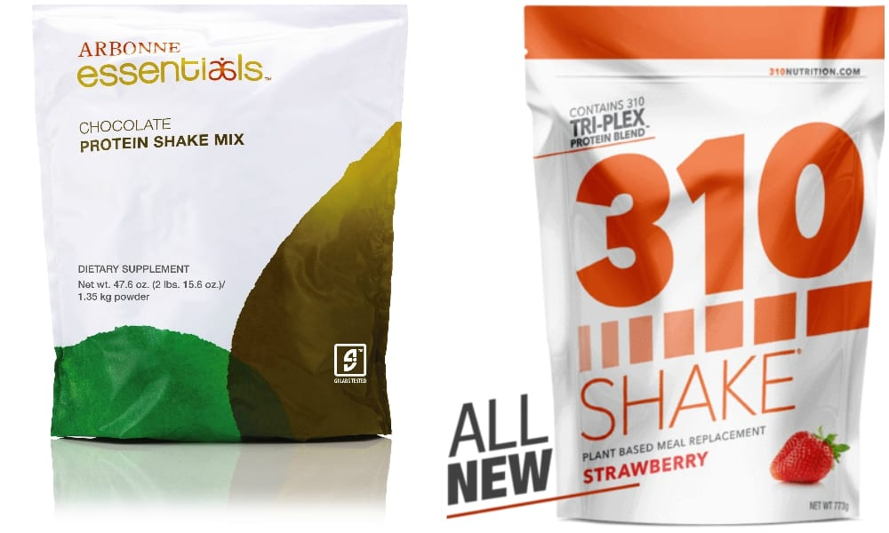arbonne vs 310 shake review