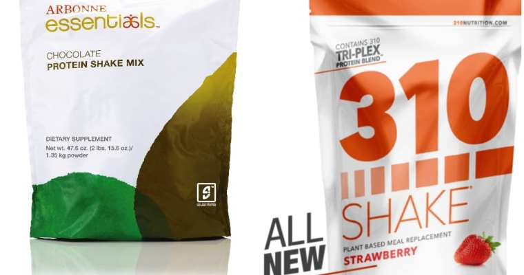 310 Shake vs Arbonne Protein Shake Review