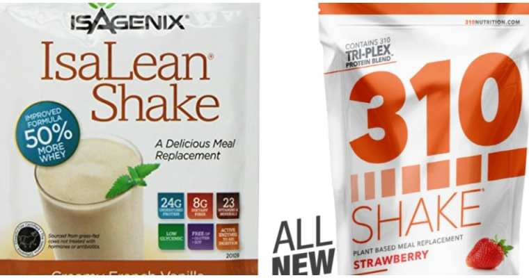 Isagenix Isalean Shake vs 310 Shake Review