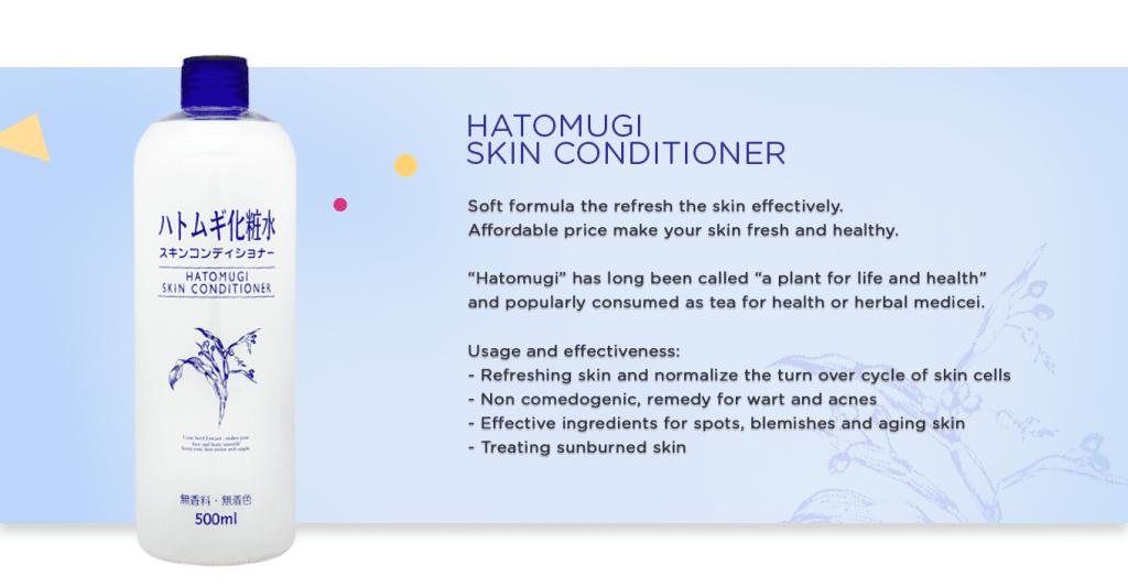 Hatomugi Skin Conditioner reviews