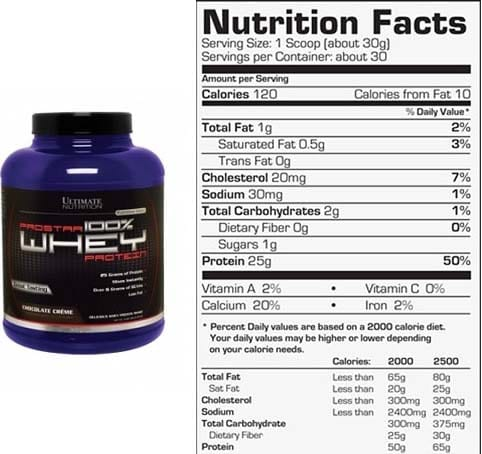 Ultimate Nutrition Whey Protein review