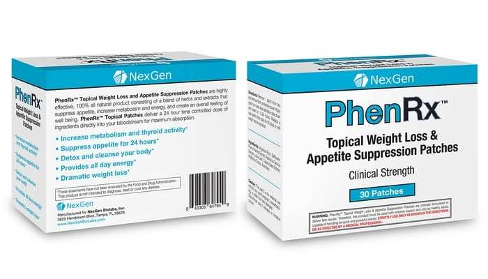 PhenRx Patches Review