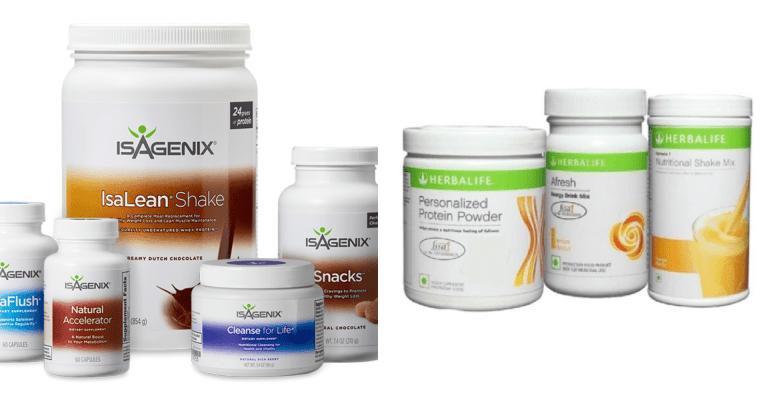 Isagenix VS Herbalife Review