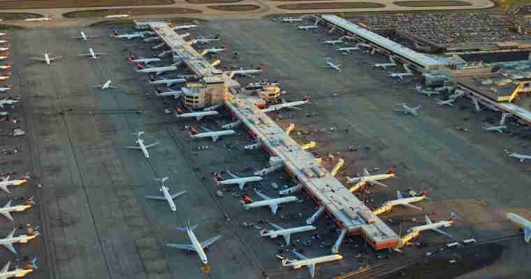 California's Busiest Air Gates
