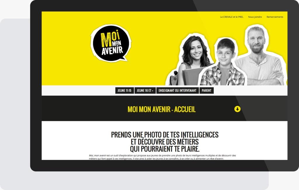 Portfolio Mioudesign - Moi mon avenir