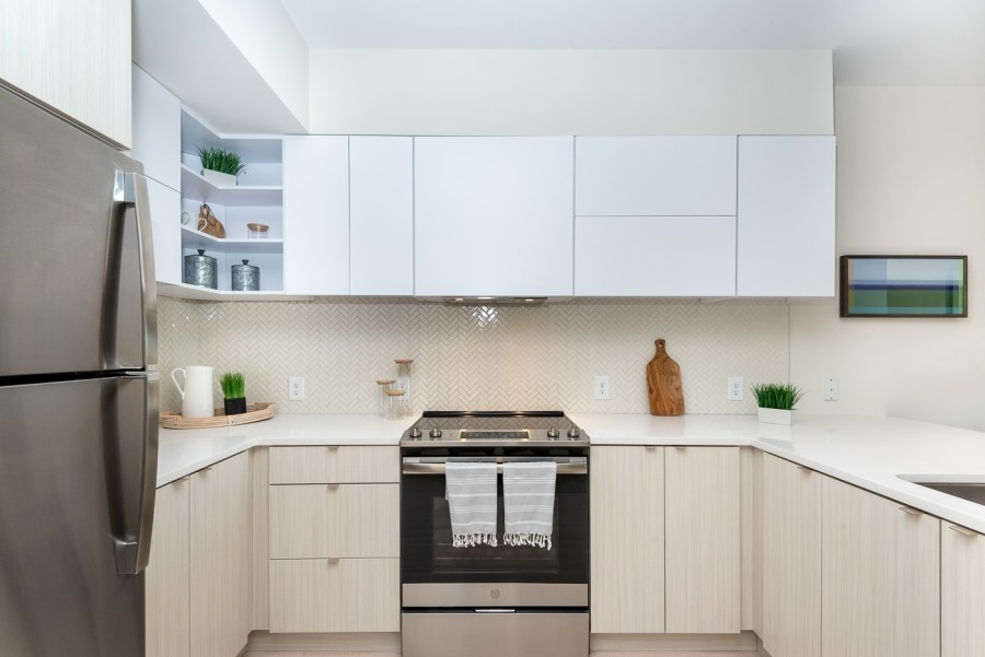 high quality appliances and finishes in the kitchen