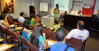 Panelista en el 1er Conversatorio Social Media caribe.