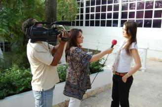 Entrevista para programa de TV de MINTIC. Cartagena 2013