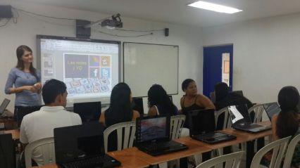 Capacitación en buen uso de redes sociales a población vulnerable. Secretaria de Gestión Social, Alcaldía de Barranquilla - 2014