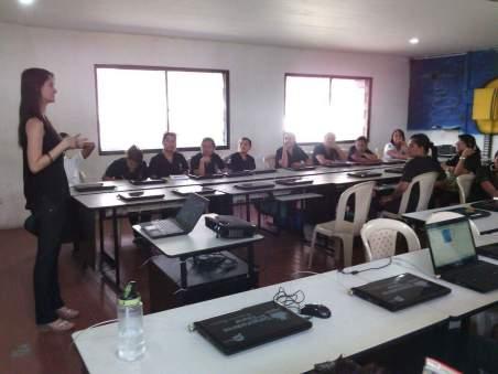 Capacitación uso de redes sociales dirigida a jóvenes del programa Soy Pro de la Secretaría de Gestión Social. 2014