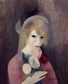 Jeune fille au chapeau vers 1923