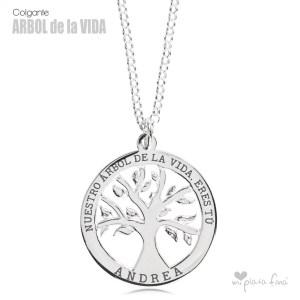 Top 10 colgantes de plata más vendidos - Colgante Árbol de la Vida