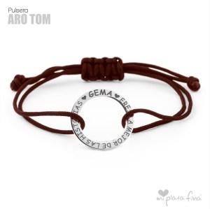 Top 10 pulseras de plata más venidas - Pulsera ARO TOM