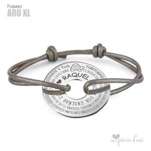Top 10 pulseras de plata más venidas - Pulsera ARO XL