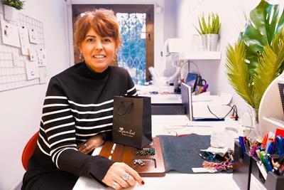 Entrevista a Fina Bastías, diseñadora de Joyas