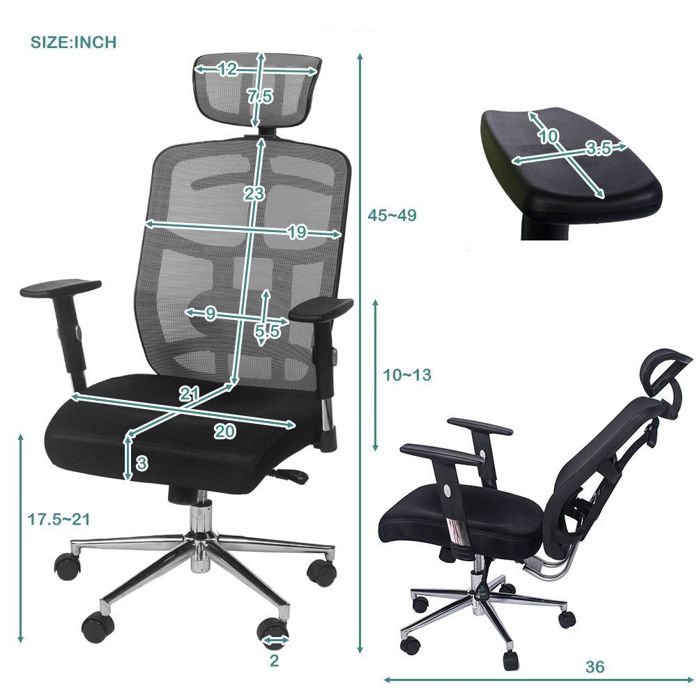 Body Built Chairs 10 Best Office Chair For Back Pain In 2019 Review Guide Mippin