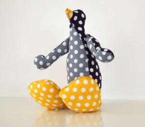pingu the stuffed penguin