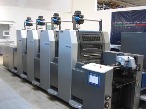 WORLD GRAPHIC MACHINE SRL Commercializzazione di macchine