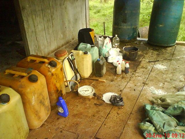 La Brigada de Selva No. 27, mantiene la ofensiva contra el narcotráfico y el hurto de combustible.