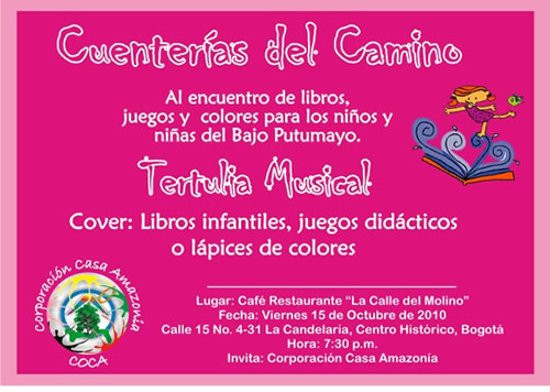 Tertulia Musical en Bogotá
