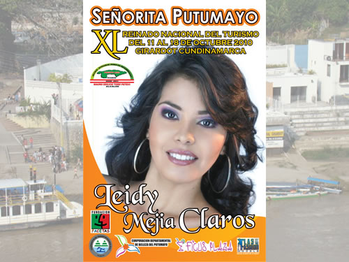 Putumayo presente en el Reinado Nacional del Turismo 2010 – Girardot