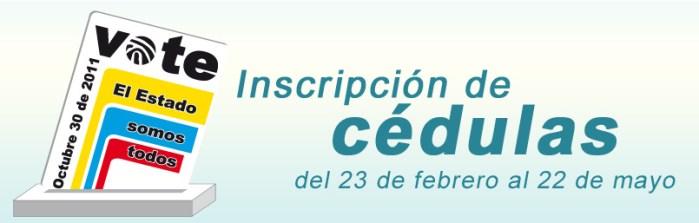 Inscripción de cédulas: hasta el 22 de mayo