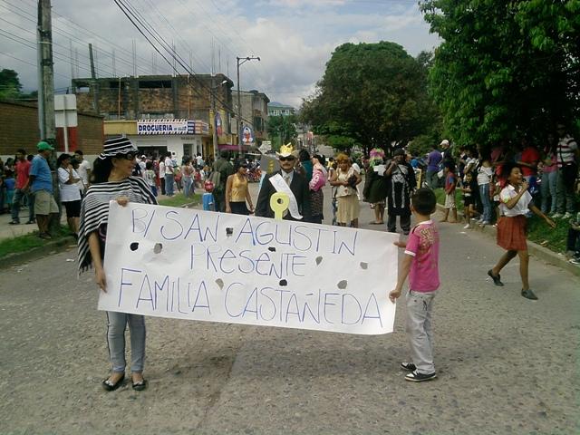 Carnaval de Mocoa – 5 de Enero. Desfile de Familia Castañeda