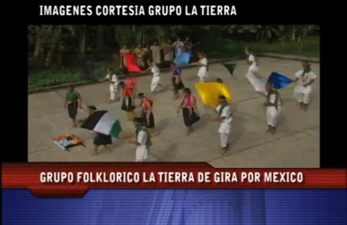 Grupo Folclórico LA TIERRA de gira por México
