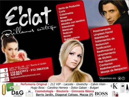 E'Clat – Peluquería y Estética. Infocomercial