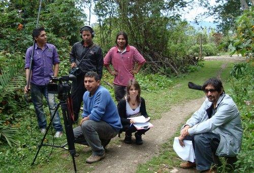 Inicia taller de Montaje en Imaginando Nuestra Imagen Alto Putumayo