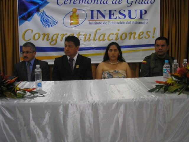 Jesus Fernando Checa - Jose Antonio Castro, Maritza Navarro, Coronel Aurelio Ordoñez