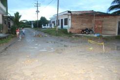 Calles afectadas por el paso de vehículos de carga pesada