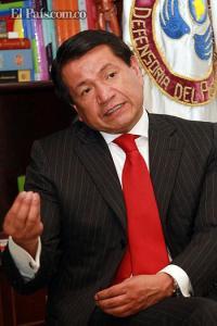 Defensor del pueblo, Jorge Armando Otálora.Colprensa