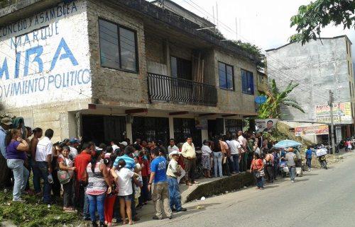 MIRA, cambia votos por tutelas en el Putumayo
