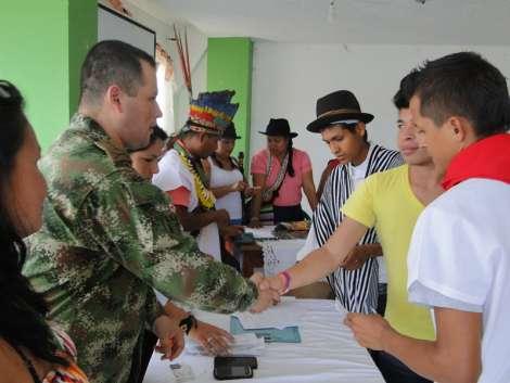 Brigada de selva n.27 comprometida con los indígenas del Putumayo