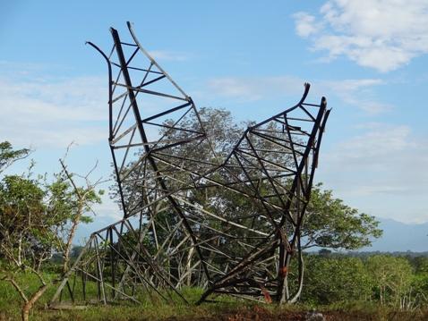Tres municipios del Bajo Putumayo sin servicio de energía eléctrica por atentado terrorista