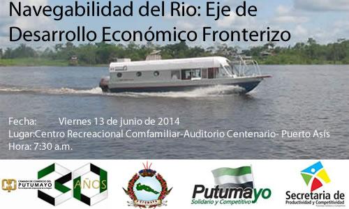 """""""Navegabilidad del Rio: Eje de Desarrollo Económico Fronterizo"""""""