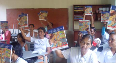El DPS otorga diplomas a participantes de RIE en Puerto Asís