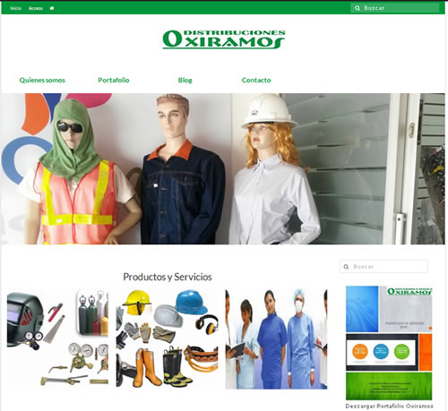 Distribuciones Oxiramos ya está en Internet