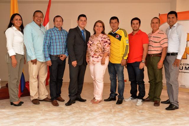Se posesiona la nueva Junta Directiva de la Cámara de Comercio del Putumayo