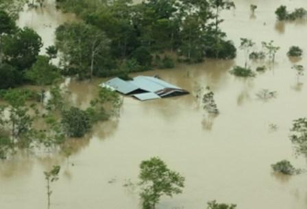 En el departamento temen que el invierno genere inundaciones y desbordamientos como ocurrió en 2012. Foto: Gobernación del Putumayo.