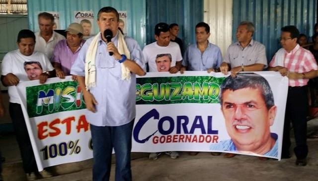 JORGE CORAL, CADIDATO A LA GOBERNACION DEL PUTUMAYO