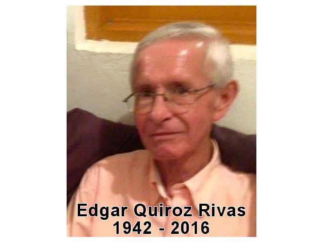 Páginas Sueltas de un Maestro – Edgar Quiroz Rivas (1942 – 2016)