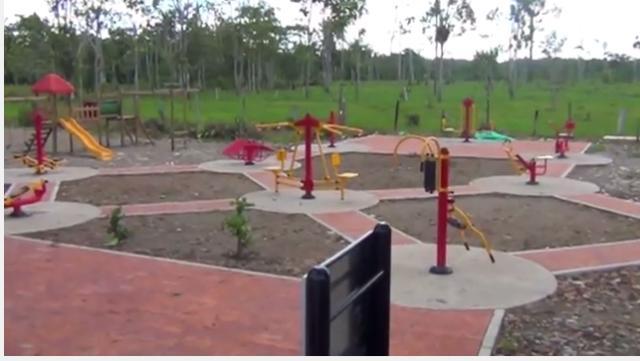 Moderno Parque Biosaludable en San Miguel (Putumayo)